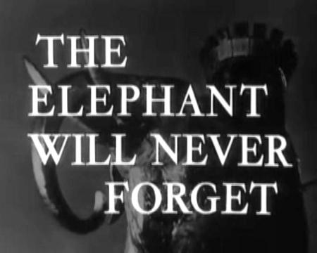 Production; The elephant will never forget, British Transport Films, 1953