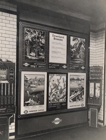 Related object: B/W print; Group of six different London Transport posters by Topical Press, Jul 1935