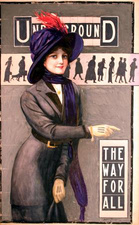 Related object: Poster artwork; The way for all, by Alfred France, 1911