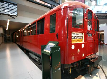Railway vehicle; London Underground 1938-tube stock driving motor car No. 11182, 1938