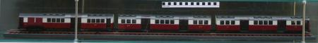 Related object: Model; 1:43 scale model train of 1923 Standard stock