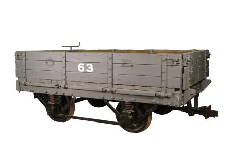 Railway vehicle; city & south london railway ballast wagon no. 63, 1921