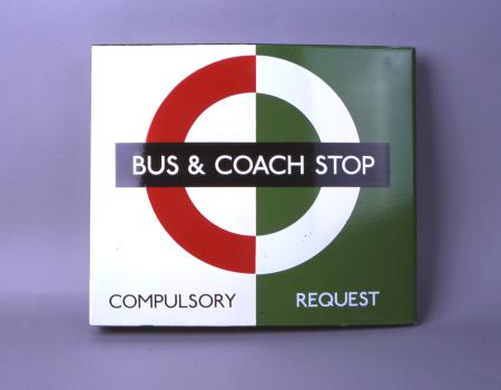 Related object: Bus stop flag;