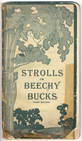 Booklet; strolls in beechy bucks, 3rd edition,  great central railway 1908
