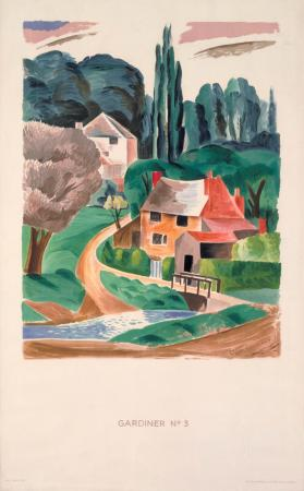 Poster; no.3; esher, by clive gardiner, 1930