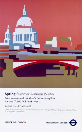 Poster commissioning and London Transport Museum
