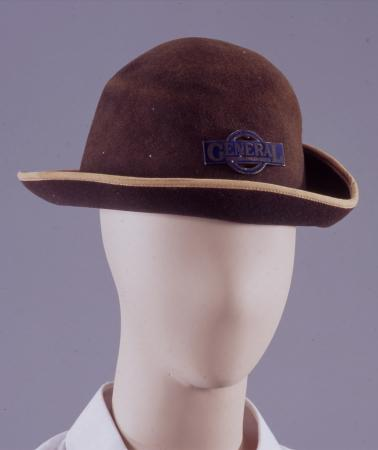 Hat; as issued to lgoc female bus conductor, 1916-1919
