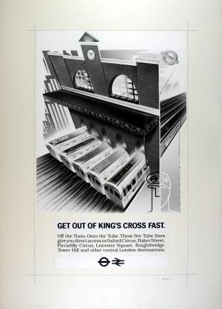 Related object: Poster Artwork; Get out of King