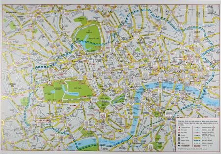 Map Of Central London To Print.Maps