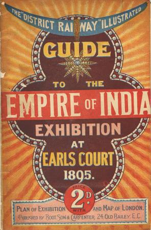 Related object: Guide book; The District Railway illustrated Guide to the Empire of India Exhibition at Earls Court, 1895