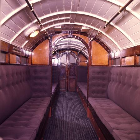 Railway vehicle; City and South London Railway Padded Cell coach No 30, 1890