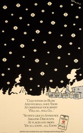 Poster; Cold winds do blow, by Brian Grimwood, 1980