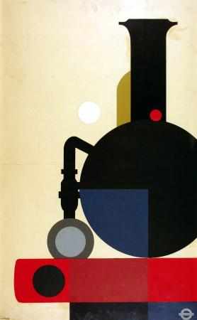 Related object: Poster artwork; London Transport collection, by Tom Eckersley, 1975