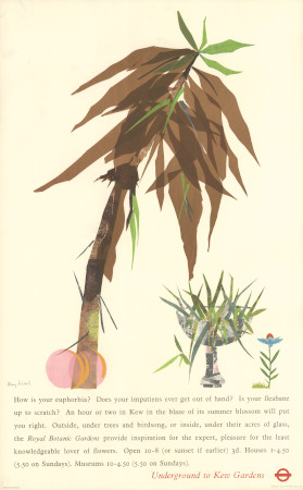Poster; Kew Gardens, by Mary M Kessell, 1964
