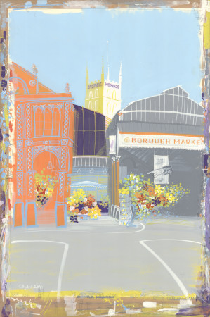 Artwork; borough, ruth hydes, 2010