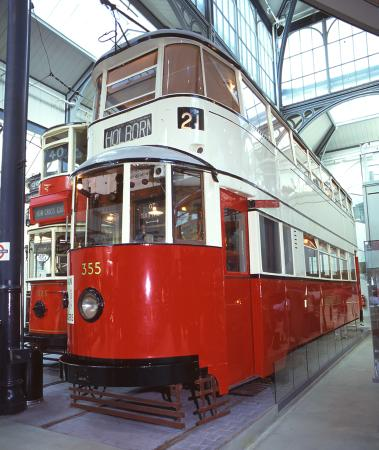 Tramway vehicle; type ucc feltham double deck electric tram no 355, 1931