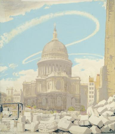 Related object: Poster artwork; The proud city St Paul