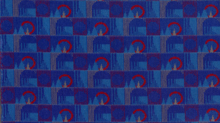 Moquette sample; Barman or Landmark, designed by Wallace Sewell, 2010