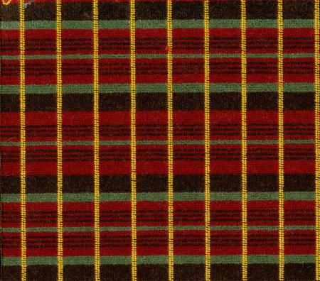 Sample of moquette as used on the rm- type bus, c1961
