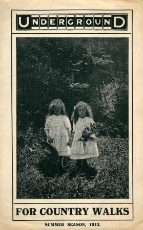 Leaflet; underground for country walks, summer season, 1912