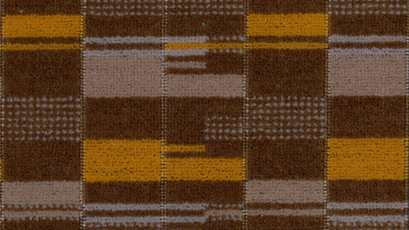 Moquette sample; overground standard design number 30563, designed by wallace sewell, 2008
