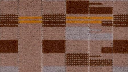 Moquette sample; overground priority design number 30563, designed by wallace sewell, 2008