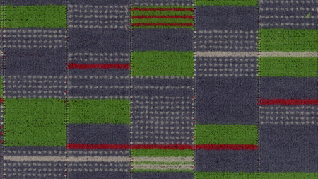 Moquette sample; croydon tramlink standard design number 30373, designed by wallace sewell, 2008