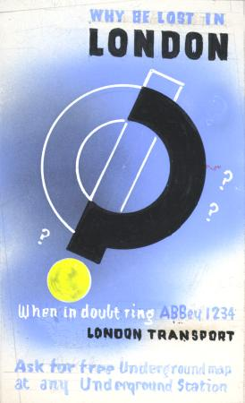 Related object: Artwork; for timetable booklet, by Abram Games