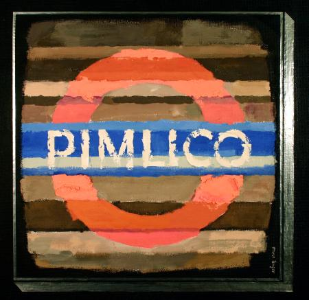 Related object: Artwork; Pimlico, by Hans Unger, 1972