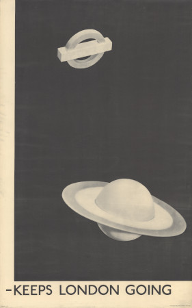 Related object: Poster; Keeps London going, by Man Ray, 1938