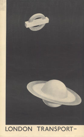 Related object: Poster; London Transport, by Man Ray, 1938