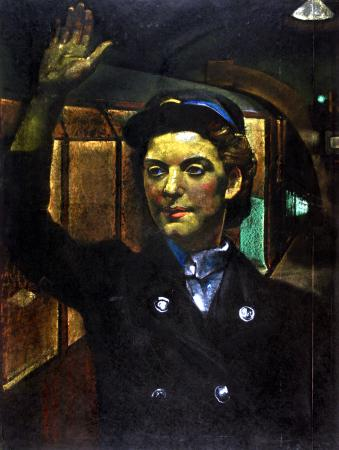 Related object: Poster artwork; Woman porter, by Eric Henri Kennington, 1944