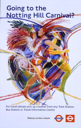 Poster; Going to the Notting Hill Carnival, unknown, 2000